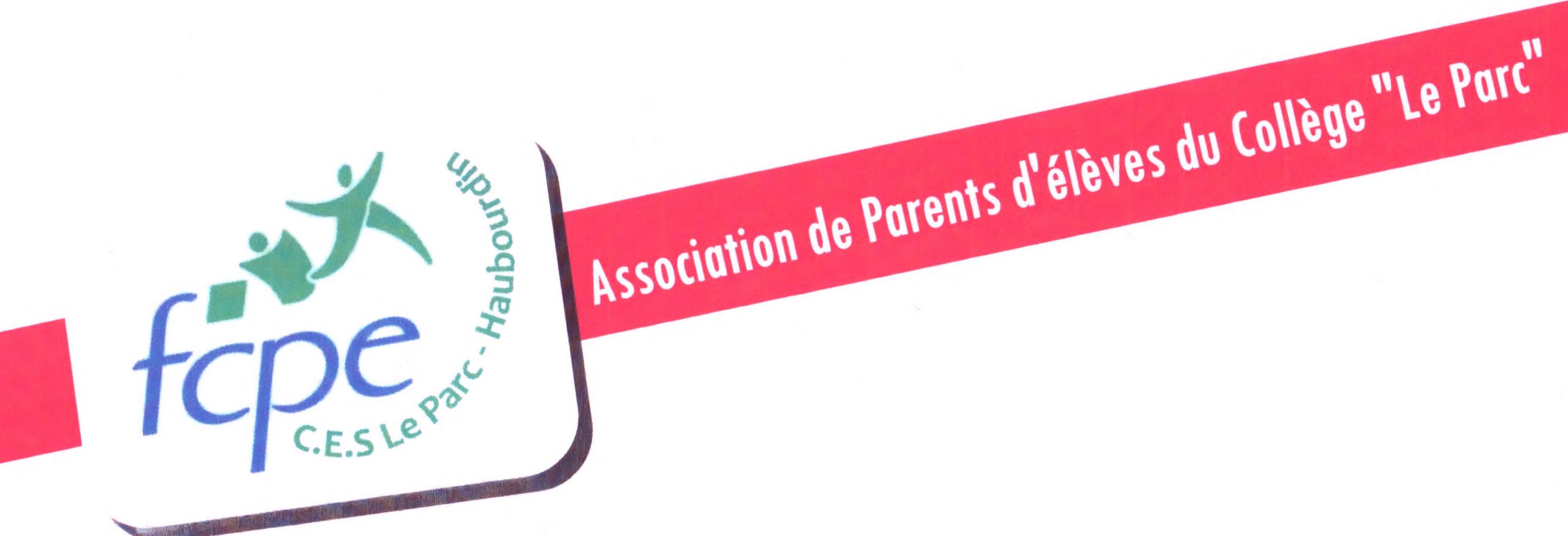 """Association des parents d'élèves du Collège """"LE PARC"""" à Haubourdin Logo"""